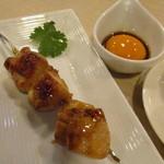 Kado-no-Casshiwa - つくねもこってりソースで美味しかったです♪