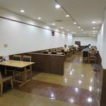 目黒区役所 レストラン - 奥にもあります。