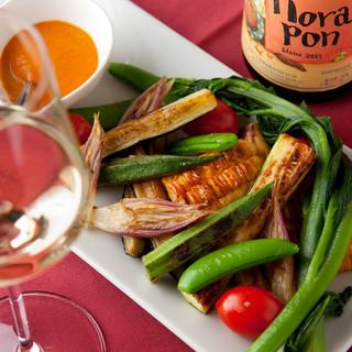 【おいしい国産豚肉】と【野菜料理】のコラボレーション!