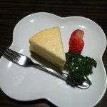 旬鮮酒場 だん - まぼろしのチーズケーキ \450