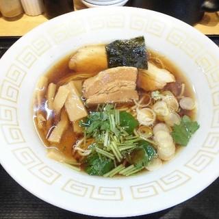 麺屋 藤 - 料理写真:阿波地鶏醤油らぁ麺
