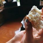 小松パン店 - パン生地も柔らかい