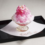 桜茶寮 - かき氷 イチゴ
