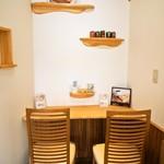 食パン専門店 デアイ・ザ・ベーカリー - 店内(カウンター席)