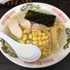 宝そば - 料理写真:「しおら~めん+ミニ丼セット」750円のしおら~めん(コーンはサービス)