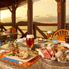 Coral Sea View - 料理写真:夕陽を見ながらバーベキューを