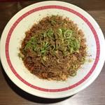 らあめん 広 - 汁なしタンタン麺(シビレLv中)