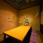 とれたて北海道 - 人気の6名から8名の個室。ゆったりとした掘りごたつの小上がりです。