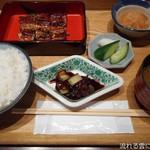 瓢六亭 - 鰻かば焼膳