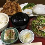 69576783 - 鯵フライ定食 ¥850