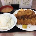 ランチハウス ミトヤ - チキンカツ定食750円
