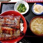吉トミ - 料理写真:うなぎ丼