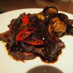 喜臨軒 - イチボの黒胡椒炒め