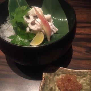 京の夏の風物詩鱧料理
