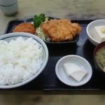 ときわ食堂 - 日替り定食の一例(600円)