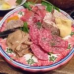 グッドミート・バル - ・お肉の前菜盛り合わせ ¥880(950)