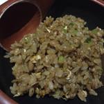 梵珠庵 - 納豆炒飯