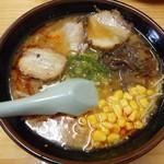 海平ラーメン - 味噌ラーメン 2017.6