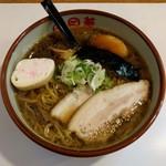 らーめん向日葵 - 料理写真:しょうゆ(650円)