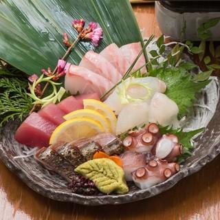 地元師崎漁港や長崎の五島より直送だから鮮度抜群★鮮魚盛合せ!