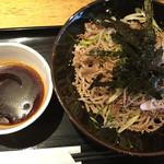 マツノ屋 - ラー油蕎麦   750円  (2017/6/25)