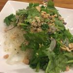 パクチーハウス東京 - 春雨サラダ