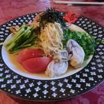中国料理 九龍 - 涼拌麺(スタンダードな冷やし中華)