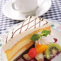 ミルキーウェイブ - セットでお得『シューバナナケーキ』のケーキセット