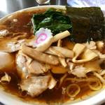 69592573 - 青島チャーシュー麺ほうれん草トッピング