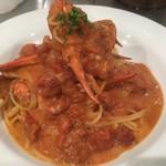イタリアンダイニングバー ミラコロ - 料理写真:当店一番人気 渡り蟹パスタ
