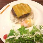 カフェダイナー コナ - ハンバーグロコモコ