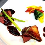 Kokoro - 牛フィル肉のローストとフォアグラのソテー トリュフのソース
