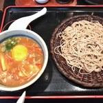 長生庵 - 「付けキムチカレーそば」1,100円