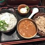 長生庵 - 「シラス丼とカレーそばセット」1,250円