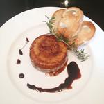 カウポーナ スズキ - カマンベールチーズのステーキ