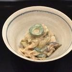 蒼樂 - くらげとお野菜の胡麻酢和え