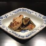 蒼樂 - 焼き河豚と焼き野菜