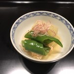 蒼樂 - 野菜の焚き合わせ