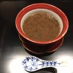 蒼樂 - 南高梅の茶碗蒸し