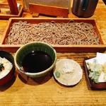 69598584 - 野菜の天ぷらそば切り(細いそば)