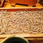 69598586 - 野菜の天ぷらそば切り(細いそば)