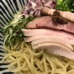 麺処 一龍庵 - ポリチーニオイルのまぜそばの並。 美味し。