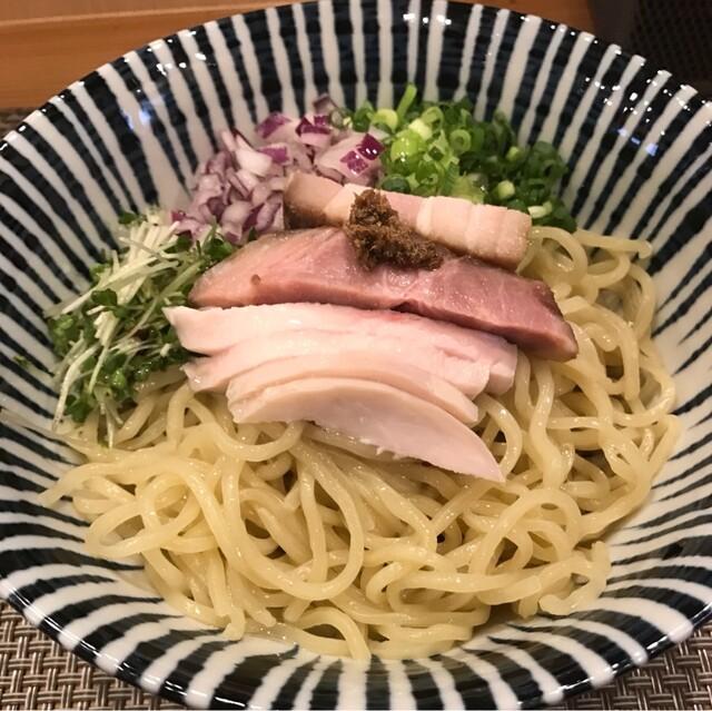 麺処 一龍庵 - ポリチーニオイルのまぜそばの並。 税込800円。 美味し。