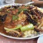 北京亭 - フカヒレあんかけ炒飯