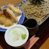 手打ちそば やま桜 - 料理写真:とり舞茸天ざる 950円