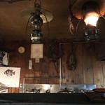 炉端 蝦夷の里 - ランプ