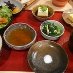 和食 楽心庵 - 天ぷらセット