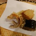 和食 楽心庵 - 蛸・茄子・じゃが芋・玉ねぎ