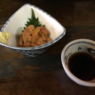 炉端 蝦夷の里 - 料理写真:宗谷産蝦夷馬糞海胆