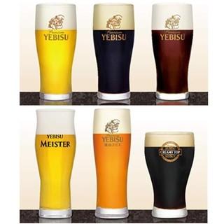 6種類のヱビスビールラインナップ!